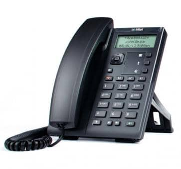 Mitel 6863 SIP phone with 128x48 pixel LCD display