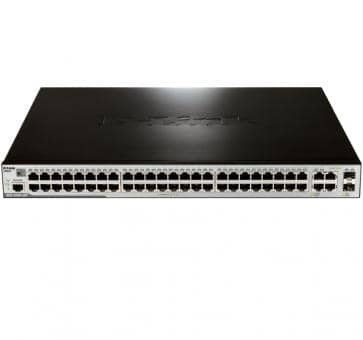 D-Link DES-3200-52P 48x 10/100BASE-TX PoE 2x SFP 2x 1000BASE-T/SFP L2 Switch
