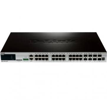 D-Link DGS-3420-28TC 20x 10/100/1000BASE-TX 4x 1000Base-T/SFP 4x SFP+ L2 Switch