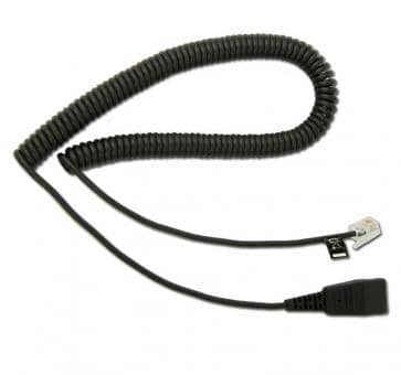 freeVoice FC-AG cord with headset interface (DHSG) and QD 88
