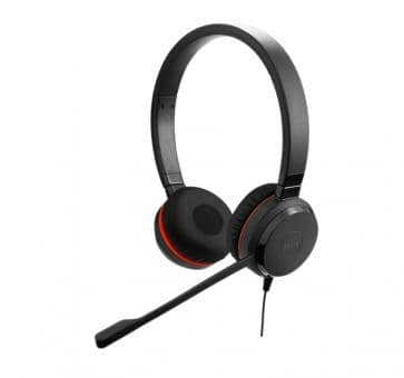 Jabra Evolve 20 MS Duo Headset USB Special Edition 4999-823-309