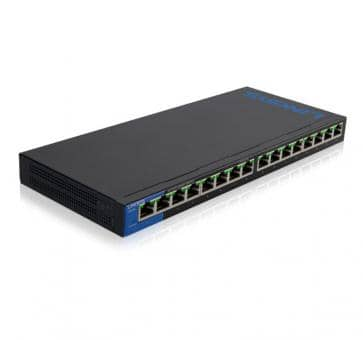 LINKSYS LGS116P 16x 10/100/1000Mbps thereof 8x PoE+ Gigabit