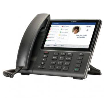 Mitel 6873 SIP phone Grand écran tactile capacitif de 7 pouc