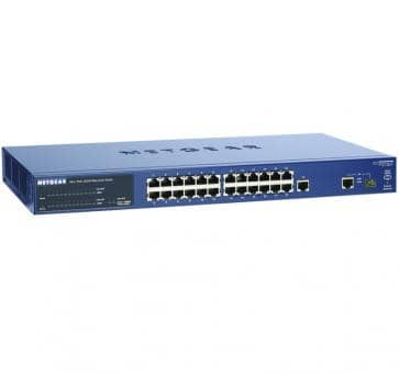 NETGEAR FS726TPEU ProSafe 24-Port Smart Switch with 2 Gigabit-Ports