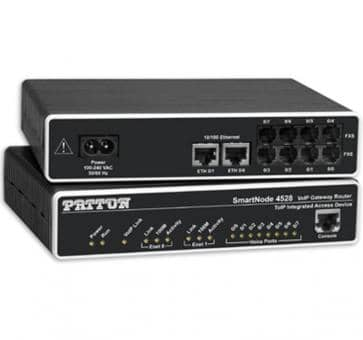 Patton SmartNode 4526 4x FXS und 2x FXO VoIP Gateway Router