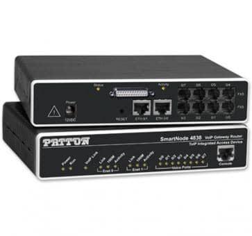 Patton Inalp SmartNode 4830 Series / SN4838/JSD/EUI