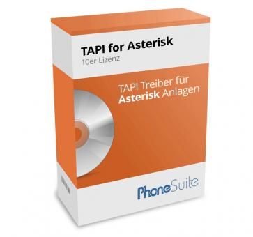 PhoneSuite TAPI for Asterisk  (10 license package)