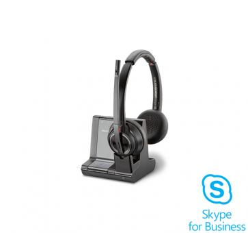 Plantronics Savi 8220 Skype for Business Headset DECT Duo 20