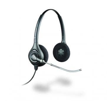 Poly Plantronics SupraPlus HW261H DUO Headset 87129-02