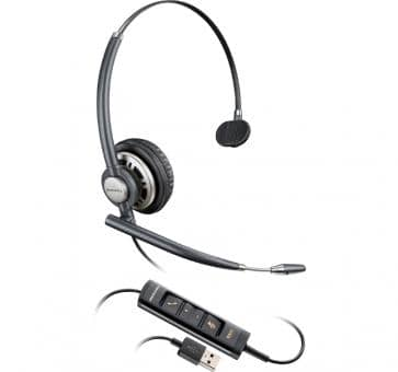 Plantronics EncorePro HW715 USB  monaural with NC 203476-01