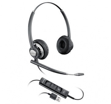 Poly Plantronics EncorePro 725 Headset Duo USB 203478-01
