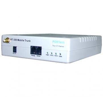 Portech MT-350S 1x GSM 1x FXS 1x FXO Gateway + SMS Function
