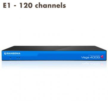Sangoma Vega 400 Gateway E1 - 120 channels