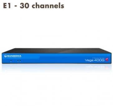 Sangoma Vega 400 Gateway E1 - 30 channels