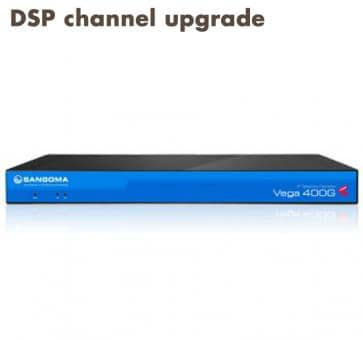 Sangoma Vega 400 Gateway channel upgrade (per channel)