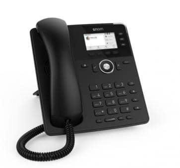 SNOM D717 IP phone PoE (without PSU)