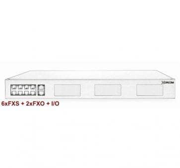 Xorcom IP PBX - 6 FXS + 2 FXO - XR1-30