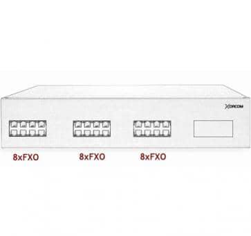Xorcom IP PBX - 24 FXO - XR2021